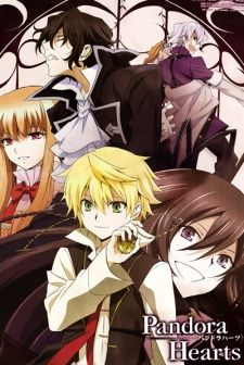 Pandora Hearts has 25 really frickin cool episodes. It is about a young boy named Oz Bezarius who is the next head of the Bezarius family, one of the four great duke houses. He is very mischevious and finds a pocketwatch when he falls into a hole in the courtyard with his friend/servant Gilbert. He also has a younger sister named Ada. Complications at his coming of age ceremony (15th birthday celebration) cause Oz to fall into the Abyss setting the story in motion. This anime is AMAZING…