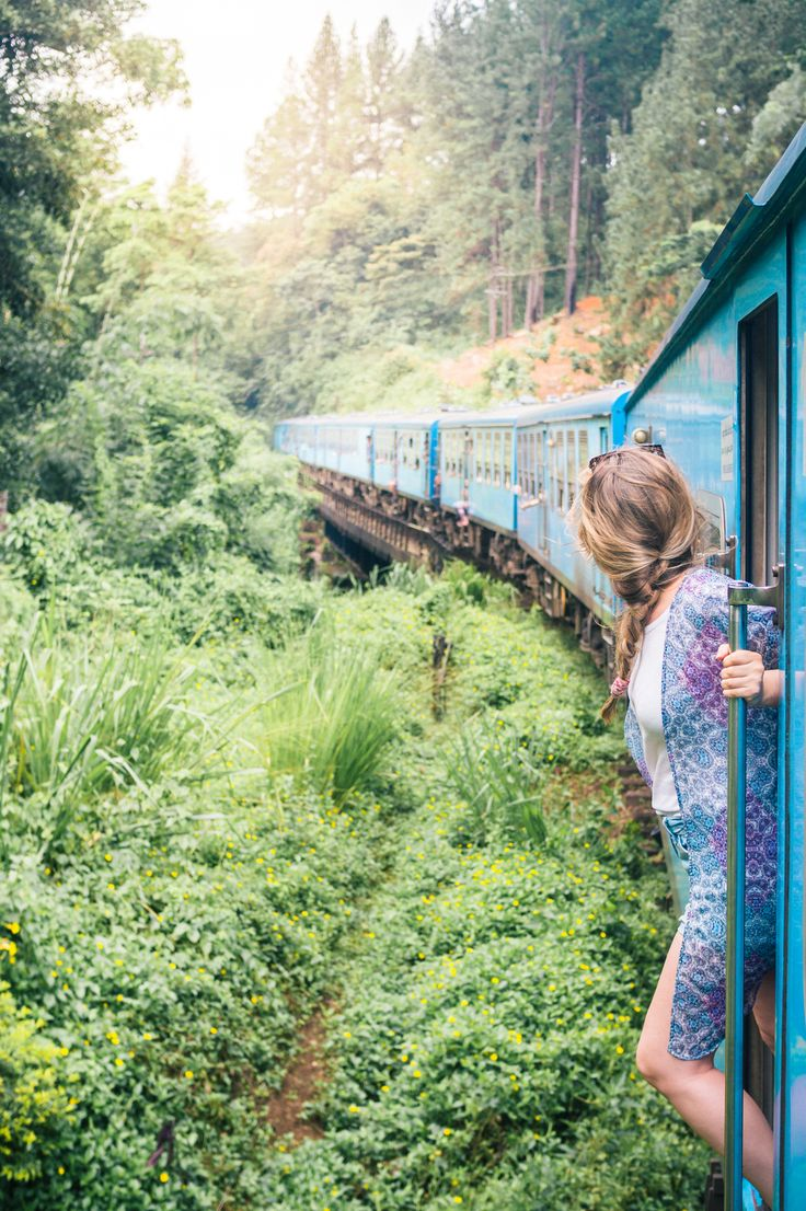Kandy to Ella, Sri Lanka. One of the worlds most scenic train rides!