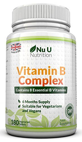 Nu U Vitamin B Complex 180 tablets (6 month supply) - Contains all Eight B Vitamins in 1 Tablet, Vitamins No description (Barcode EAN = 0600686911432). http://www.comparestoreprices.co.uk/december-2016-6/nu-u-vitamin-b-complex-180-tablets-6-month-supply--contains-all-eight-b-vitamins-in-1-tablet-vitamins.asp