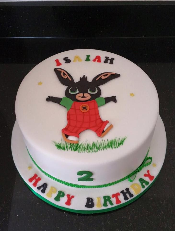 Bing Bunny Cake Decorations