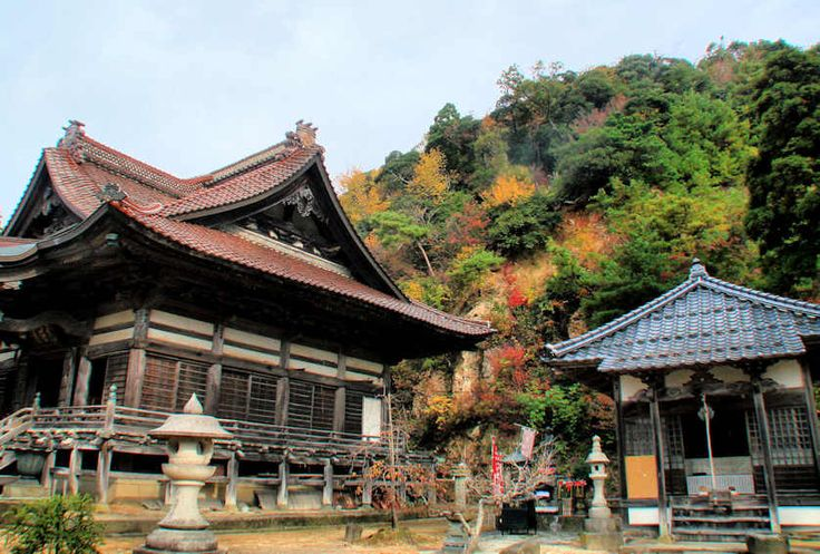 Manidera Temple, Tottori City.