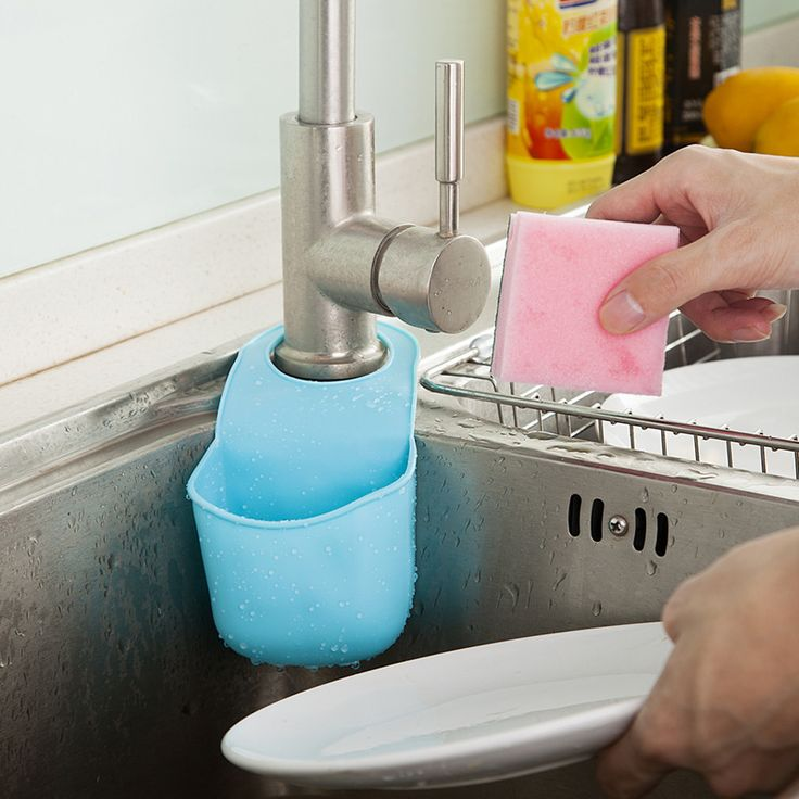 1 PCS/lot Sponge storage Rack Over The Sink Saddle Organizer Shelf Item Gear Accessories Supplies Products Kitchen Bath Gadgets