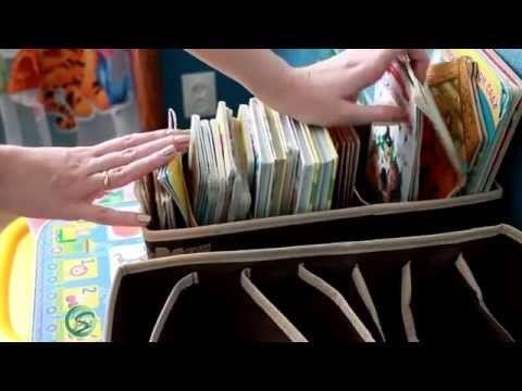 Организация и хранение ДЕТСКИХ КНИГ (Ирина Соковых) - YouTube