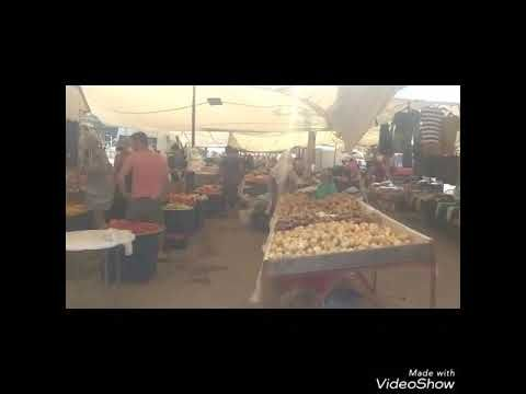 Chinese fruit and vegetables in Turkish bazaar