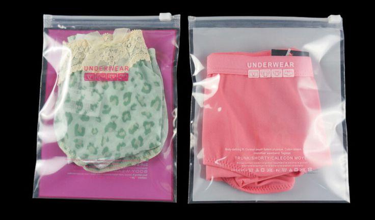 women clothing package plastic bag