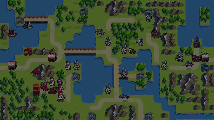 Advance Wars spiritual successor Wargroove by Chucklefish (Publisher of Stardew Valley Risk of Rain and Starbound)