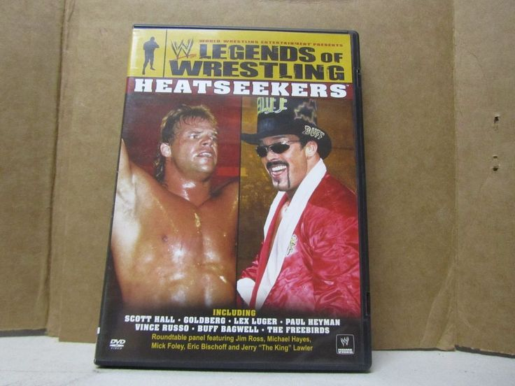 WWE Legends of Wrestling : Heatseekers DVD Out of Print Buff Bagwell Lex Luger
