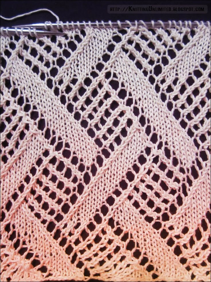 Knitting Unlimited: Lace Stitch Patterns                                                                                                                                                                                 More