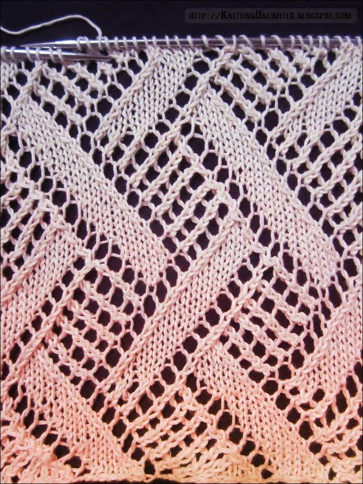 Knitting Unlimited: Lace Stitch Patterns                                                                                                                                                                                 More