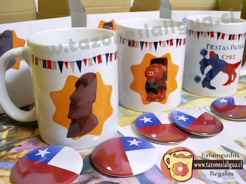 Tazones Fiestas Patrias Chile