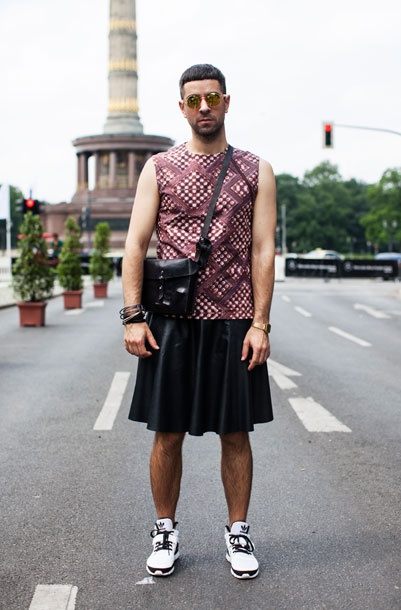 Slideshow: Street Style From Berlin Fashion Week - The Cut  http://pinterest.com/pin/