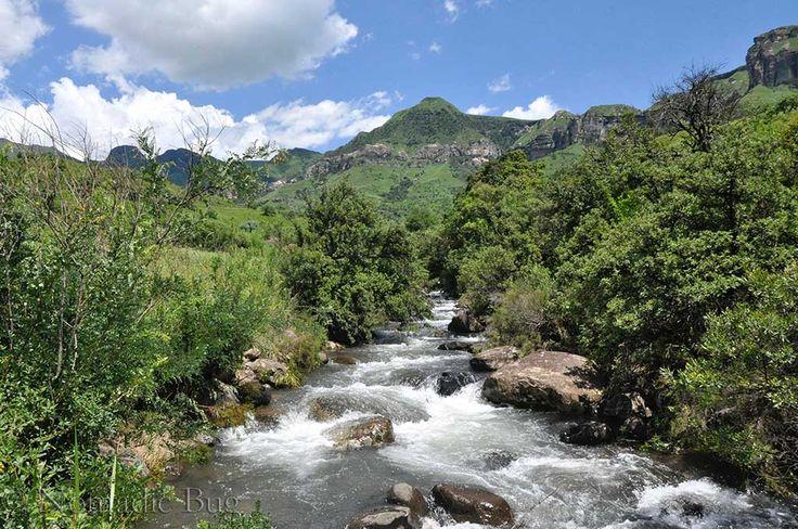 Raging River, Royal Natal National Park, South Africa   Nomadic Existence