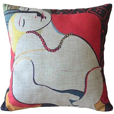 Famous+Paintings+Works+One+Decorative+Pillow+Cover+–+AUD+$+17.94