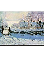 The Magpie, 1869 by Claude Monet Famous Stretch... – AUD $ 24.39