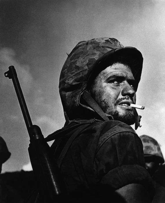 W. Eugene Smith - Fronte del Pacifico, Battaglia di Saipan, 27 giugno 1944