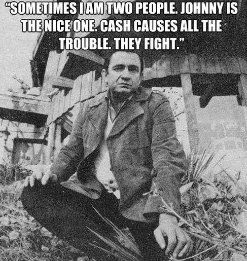 Johnny Cash: My spirit animal.