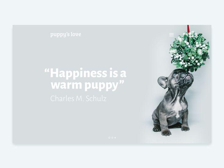 Puppy's love by inthink.studio