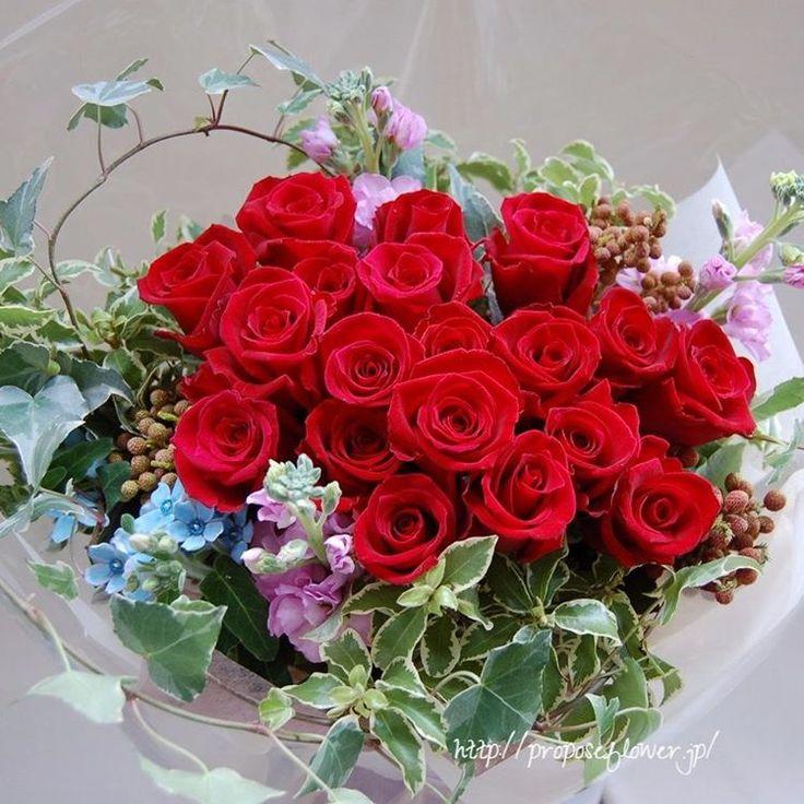 幸せな花束の記録♪  #flower #flowers #flowerlovers#flowershop#flowerdesign #bouquet #hanataba#blumen #fleur #proposeflower #rose #roses#redrose #花束 #薔薇花束 #求婚花束 #クリスマス花束#赤いバラ #花屋 #フラワーショップ #プロポーズフラワー