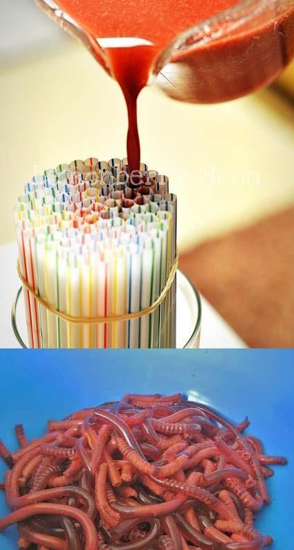 gusanos de gelatina :)