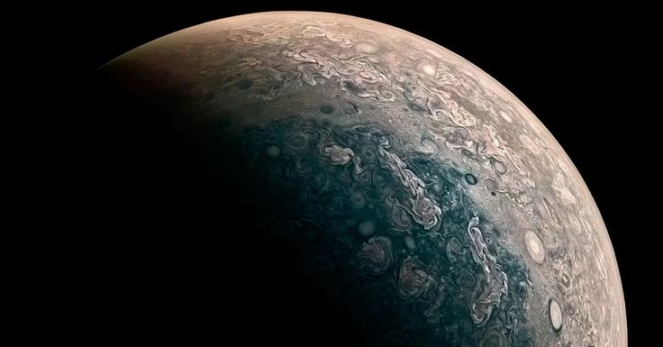 Five years after beginning its very long journey, NASA's Juno spacecraft has beamed back photos of Jupiter's poles for the first time... and they're stunni