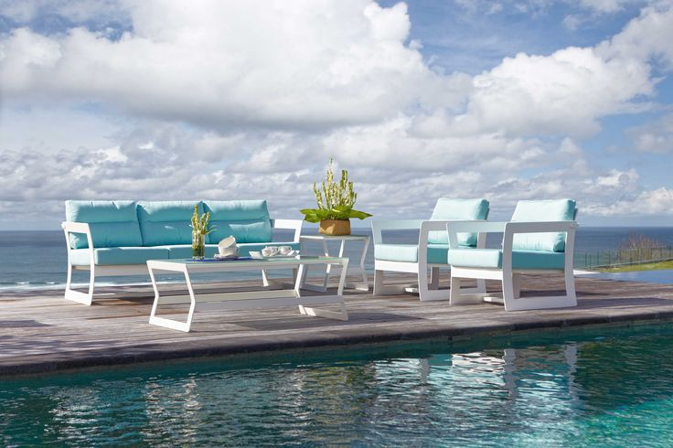 #luxury #outdoor #sofa set from #FioreRosso skyline collection