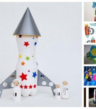 Manualidades infantiles para astronautas