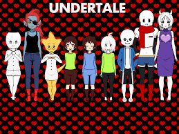 Image result for undertale characters