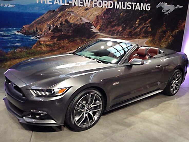2015 ford mustang convertible   Images of 2015 Ford Mustang Convertible Leak Out   TheDetroitBureau ...
