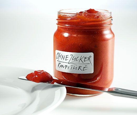 Schnelle Marmelade ohne Zucker zum Selbermachen!