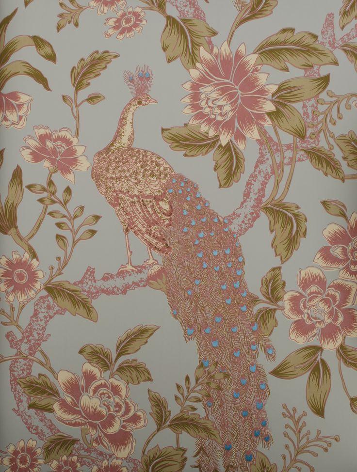 Flowers and Birds 5242 bij Behangwebshop