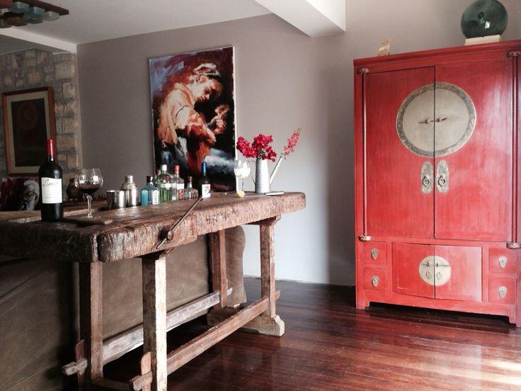 Rustic bar / table