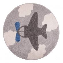 Nattiot Kinderteppich Little Plane
