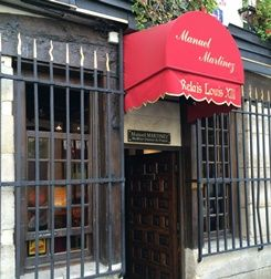Restaurant Relais Louis XIII - Manuel Martinez