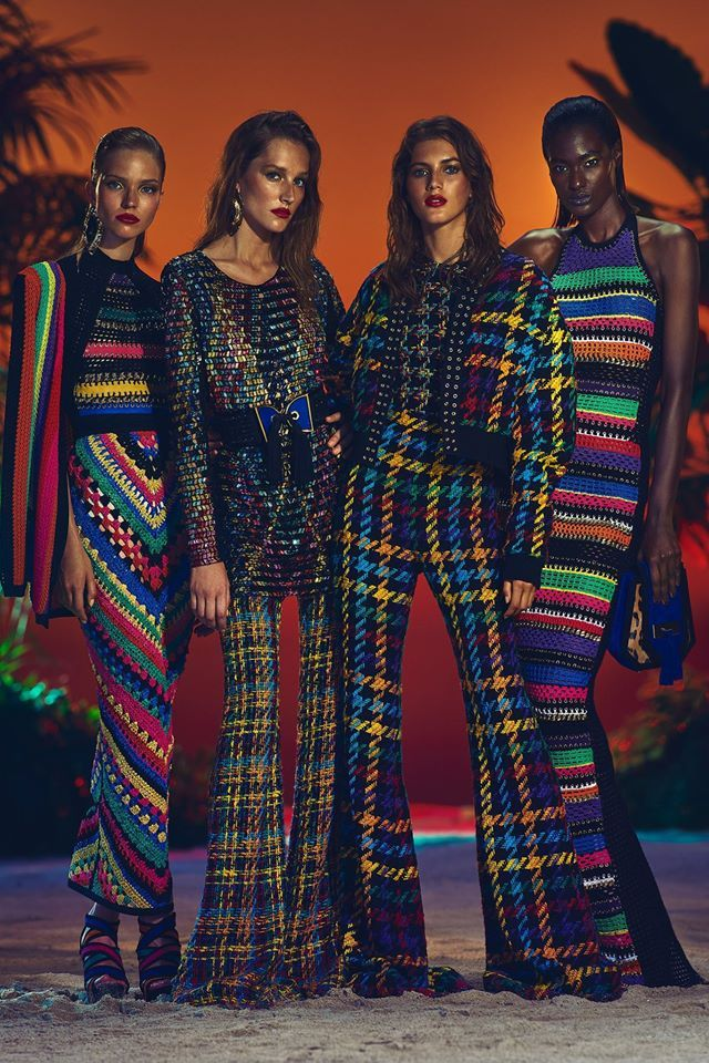 Balmain Resort 2017 is, once again, amazing ! Olivier Rousteing <3  Photography by AJ Numan