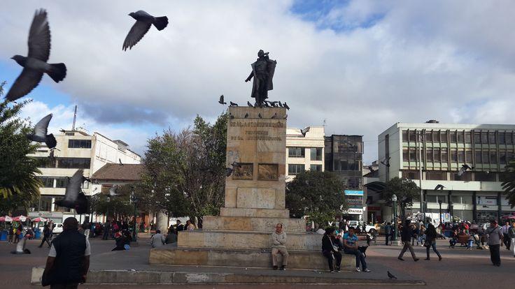 Colombia - Plaza Nariño, en la ciudad de Pasto, Nariño.