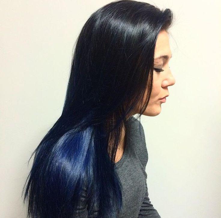 Blue Balayage