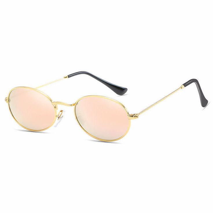 QUALITÄT groß Cat Eye Damen designer modische Sonnenbrille 70's Jahre oval Linse xLlC8