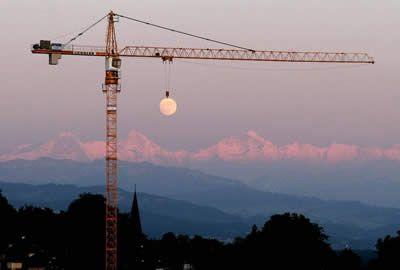 Swinging on the Moon...