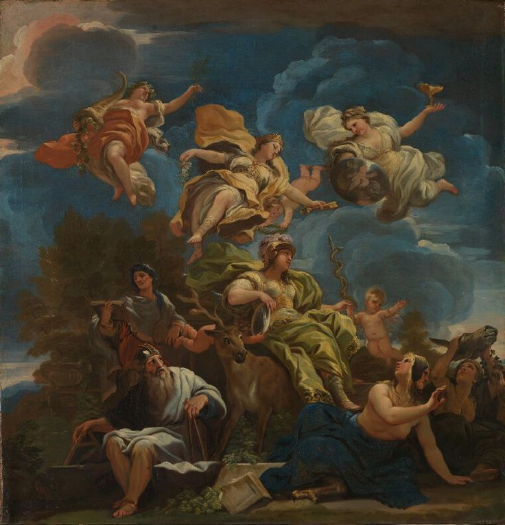 Allegory of prudence, Luca Giordano