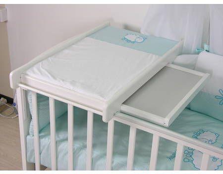 Polini Kids Wickelbrett Wickelplatte universell für alle Betten,3043-4