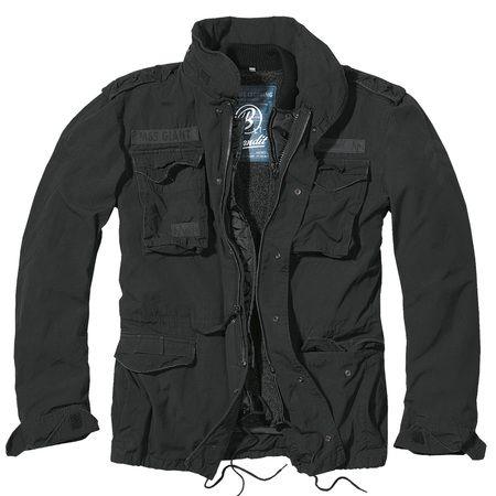 M65 Jacke Giant schwarz
