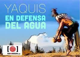 Los Yaquis lo dicen tan simple: sin agua, sin territorio, sin trabajo… no hay vida.  Escucha al vocero de la tribu Yaqui, Tomás Rojo, desde la #CaravanaPorLaVida,