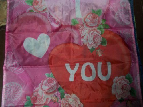 VALENTINES' DAY FLAG by VALENTINE'S DAY FLAG. $0.99. FLAG-NEW 27 INCHES WIDTH.. 36 INCHES IN LENGTH.. 100% POLYESTER.. FITS A POLE..GREAT FLAG TO HANG