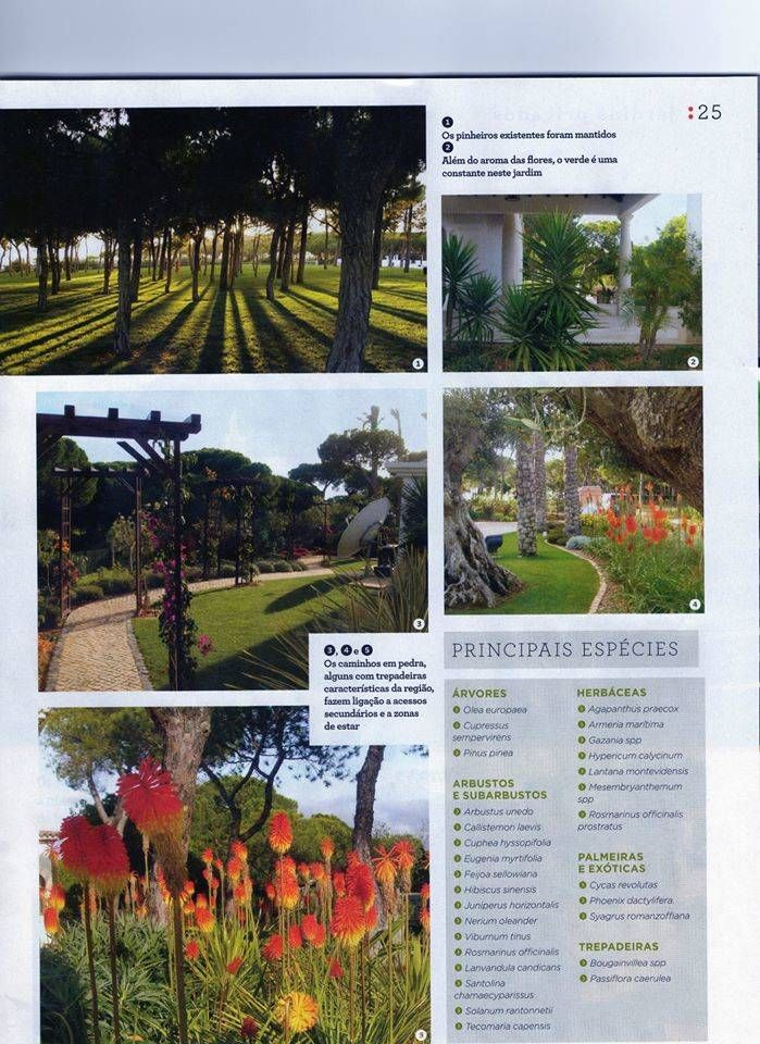 Jardim Privado (De ECOSSISTEMAS; Áreas Verdes e Sistemas de Rega.)