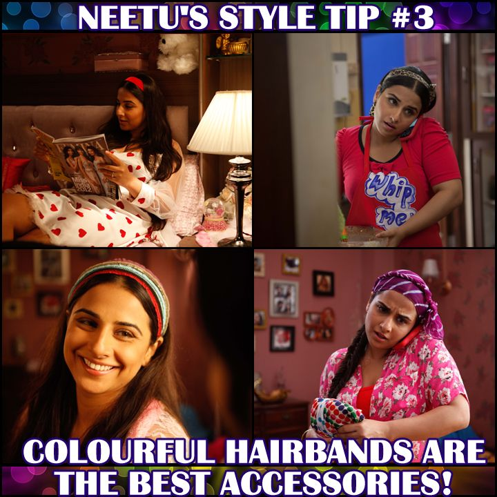 Neetu loves matching her hair band with the dresses she wears. Do you agree with her style tip?