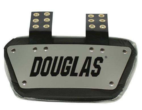 Douglas DP Series Football Back Plate - Black 4 Inches by Douglas. $34.99. The Douglas(r) football back plate is designed to provide you with lower back protection. Extra grommets allow it to be raised or lowered.