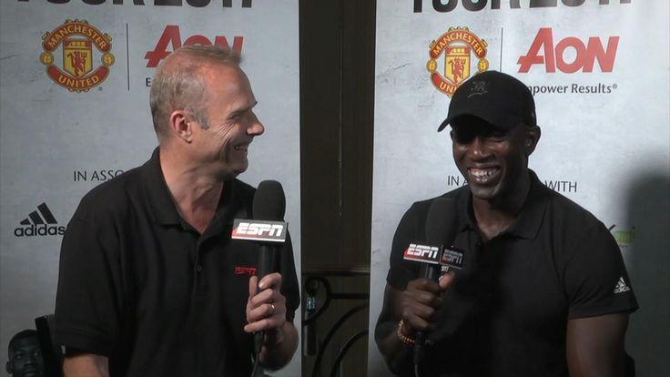 WATCH: Dwight Yorke talks up Lukaku, Mourinho