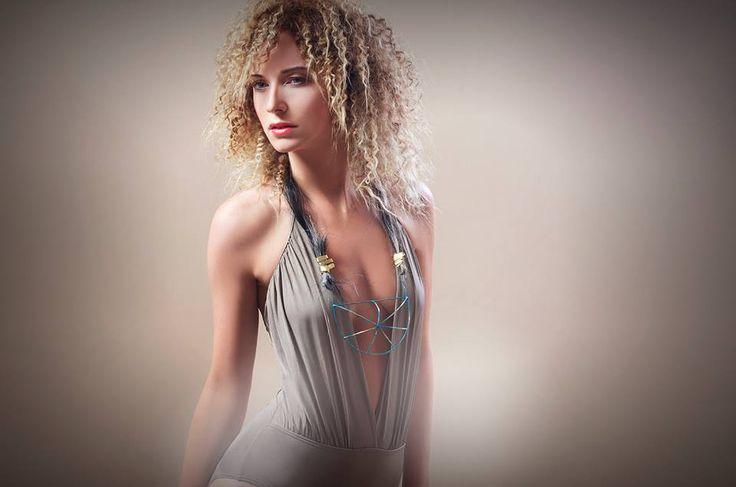 styling, make-up, afro hair, Eva Susanska, jewelry
