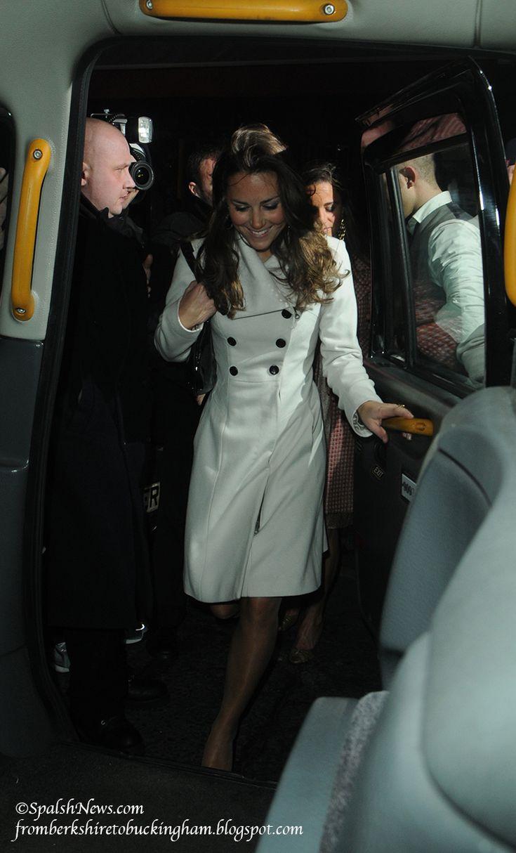 From Berkshire to Buckingham : Kate