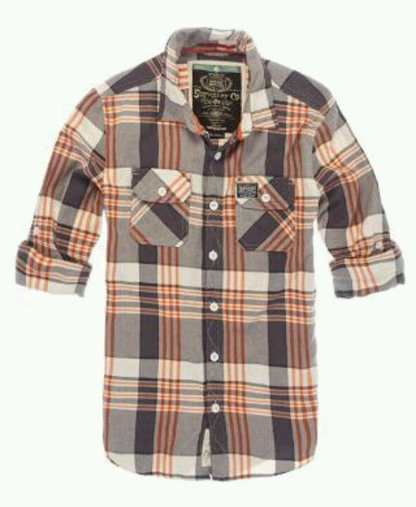 Lumberjack twill shirt  Superdry